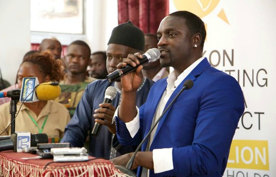 Akon Pledges To Bring Solar Power To 600 Million In Africa!